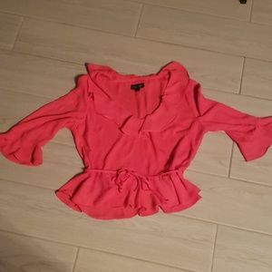 Topshop Top Size 6 (Juniors)